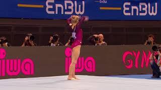 Angelina Melnikova - Floor Exercise - 2018 Stuttgart World Cup