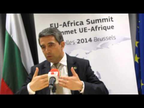 Президентът Росен Плевнелиев - EU - Africa Summit