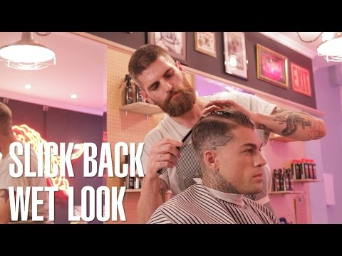 How to Style: Stephen James Slick Back Haircut & Hairstyle Tutorial