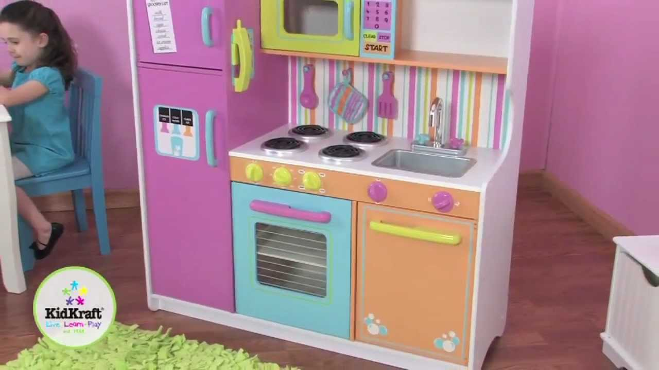 Buy Kidkraft Deluxe Big And Bright Kitchen 53100 From 163