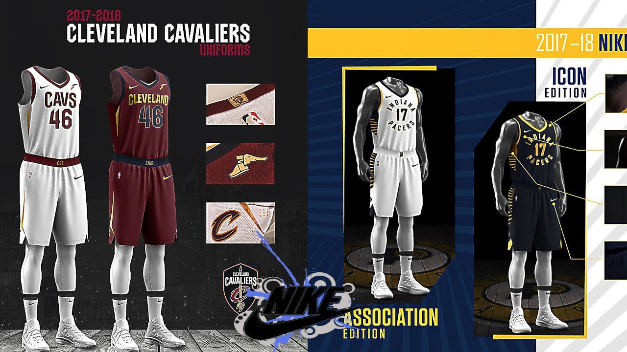 NEW NIKE NBA JERSEYS FOR 2017-18 SEASON!! - YouTube d27375264fc8
