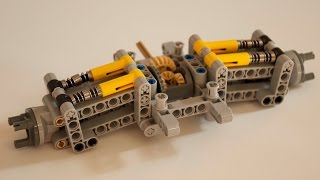 Lego Technic Ultra Compact/ Adjustable Rear Axle w/ Instructions