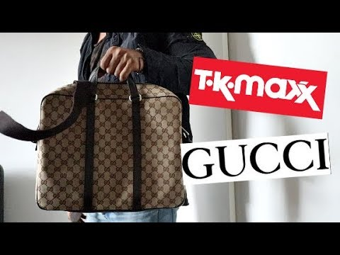 THEY HAD GUCCI AT TKMAXX????
