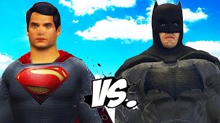 Superman vs batman - epic superheroes battle