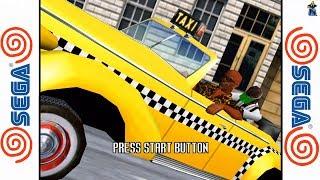 Crazy Taxi 2 - SEGA Dreamcast Gameplay Sample HD - Redream Emulator