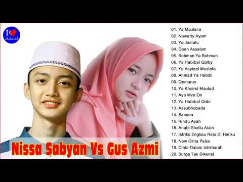 Duet Nisa Sabyan Dan Gus AZMI Bikin BAPER Sholawat Terbaru 2018