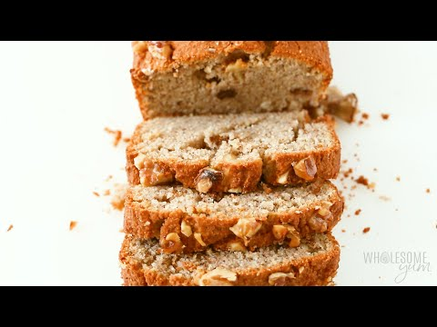 Keto Low Carb Banana Bread Recipe With Almond Flour Sugar Free