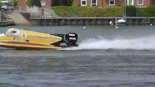 F2 Oulton Broad Powerboat Racing May 5th 2014
