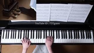 使用楽譜:月刊ピアノ2018年2月号より (採譜者:事務員G) 2018年1月21...