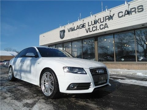 2011 audi a4 s line in review village luxury cars. Black Bedroom Furniture Sets. Home Design Ideas