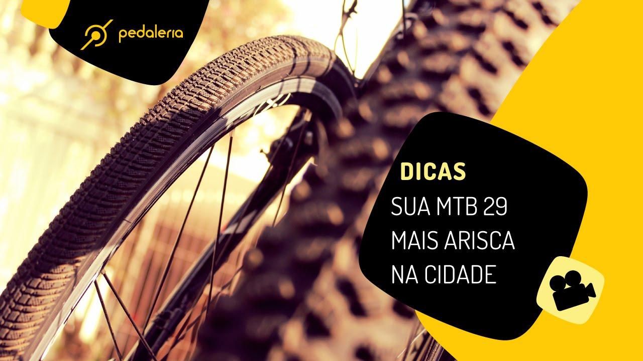 9ca2d9d56 MTB aro 29 com agilidade de bicicleta urbana. Pedaleria - YouTube