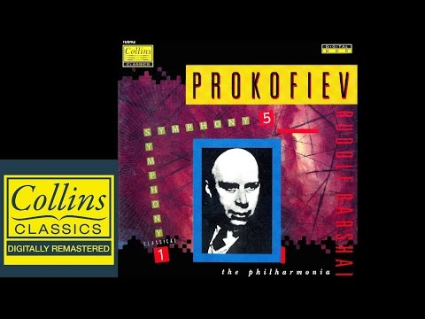 (FULL ALBUM) Prokofiev - Symphony No.5 and No.1 - Rudolf Barshai - Philharmonia Orchestra