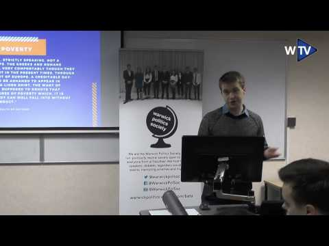 How Free Markets can help the poor | Sam Bowman Lecture | Warwick Conservative & Politics Society
