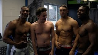 Tyger gets a body builder workout - Tyger Takes On The Perfect Body - Episode 2 Preview - BBC Three