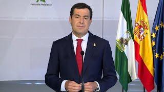 Andalucía prorroga las restricciones hasta el 10 de diciembre