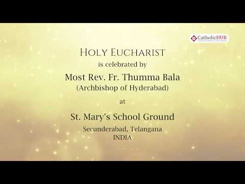 Extraordinary Missionary Month OCT 2019@St.Mary's School Ground, Sec-bad, HYD,TS,INDIA.31-11-19, P-2