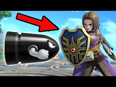 Every Move The Hero Can Block With His Shield In Super Smash Bros Ultimate
