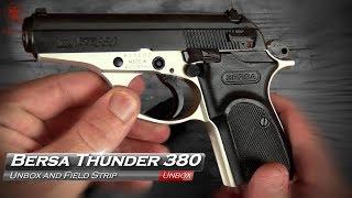 Bersa Thunder 380 Unbox and Fieldstrip