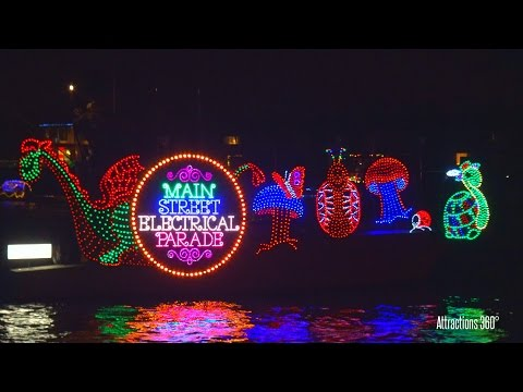 Main Street Electrical Parade Boat - Newport Beach Christmas Boat Parade