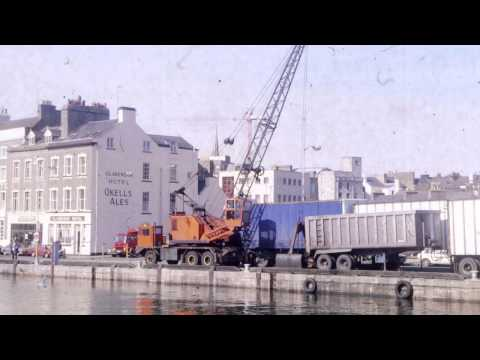 Douglas Harbour 1989 Isle of Man