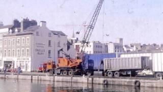 Douglas Harbour 1989 Isle of Man