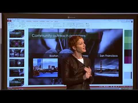 Satya Nadella präsentiert Microsoft Office für das iPad