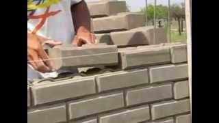 mampostería con ladrillos de suelo cemento