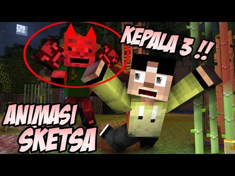 Erpan Dengar Suara Hantu ? Antobrine - Minecraft Animation Indonesia
