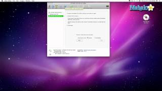 Using a Mac - Ejecting a CD/DVD