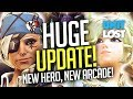 Overwatch - HUGE UPDATE! NEW Arcade! Ana BUFF! Mercy NERF! Moira LIVE!