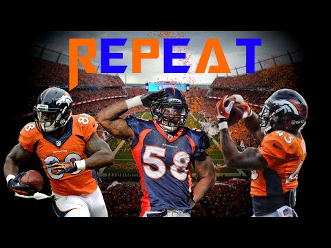 "Denver Broncos 2016-2017 Pump-Up ""Repeat"""
