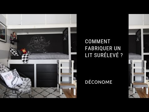 Comment Fabriquer Un Lit Sureleve Youtube