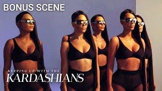 Kim Kardashian's Body Doubles Wear Masks Of Her Face | KUWTK Bonus Scene | E!