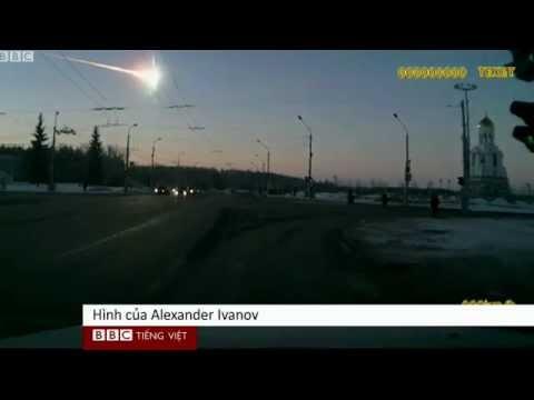 Cảnh tượng sao chổi phát nổ tại Nga