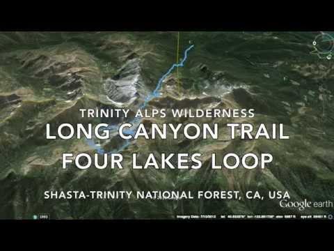 Trinity Alps - Long Canyon, Four Lakes Loop