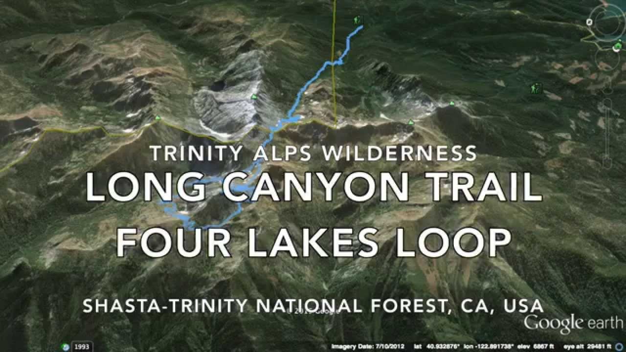 Trinity Alps - Long Canyon, Four Lakes Loop - YouTube