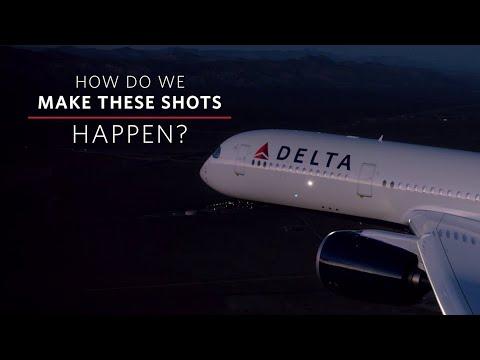 Delta Air Lines | How'd We Get That Plane Shot?