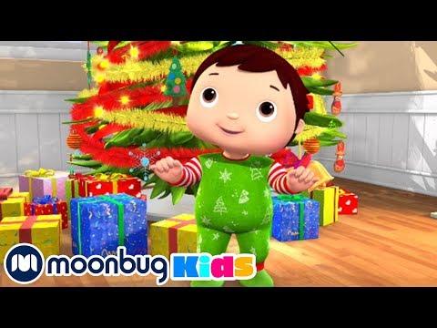 Descargar Video Canciones Infantiles | Familia de dedos navideños | Dibujos Animados | Little Baby Bum en Español