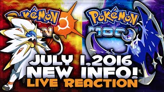 RIDING POKEMON IS BACK! NEW POKEMON, ABILITIES, & MORE! [LIVE REACTION] - July 1st - Sun & Moon News