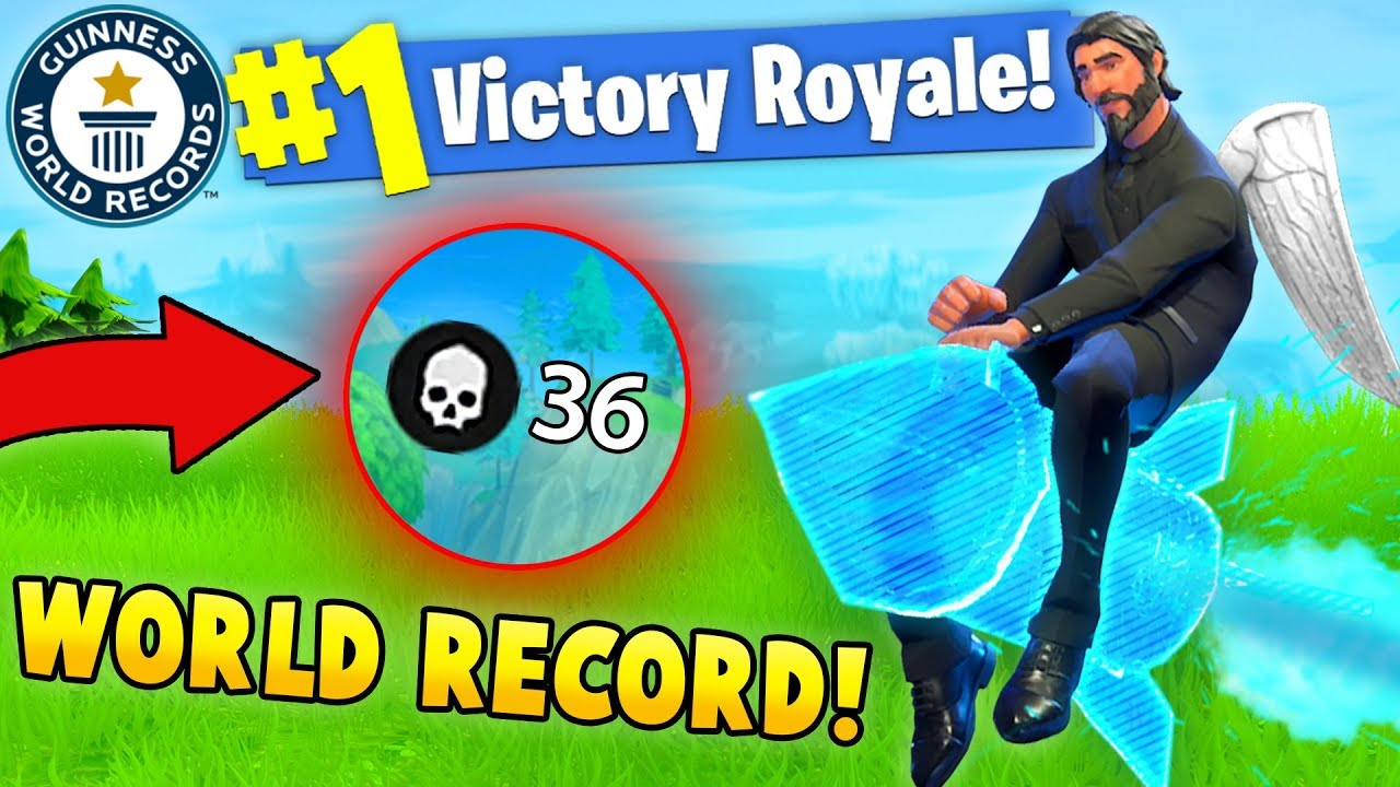 36 KILLS SOLO WORLD RECORD! (Fortnite Solo Squads FAILS ...