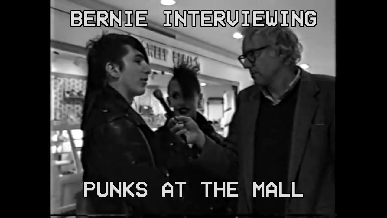 Bernie Sanders Interviews Punks (1988)