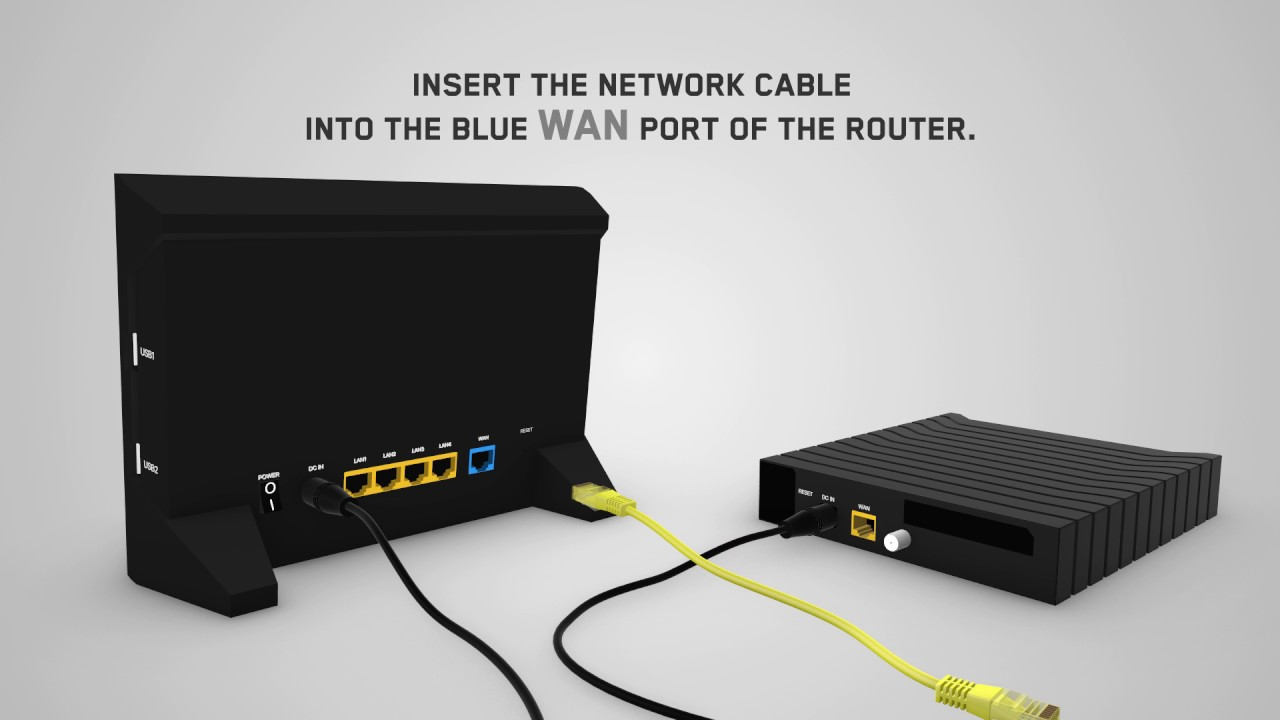 How to install your router in 4 simple steps