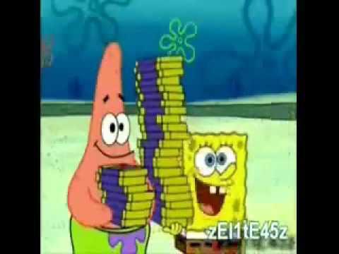 Youtube poop: Spongebob and Patrick sell PINGAS(original, reuploaded)