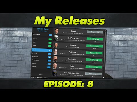 My Releases : Episode 8 : DarkRP 2 5 F4 Menu