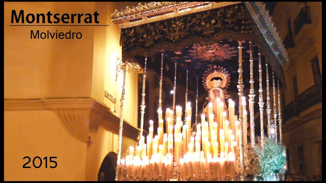 Virgen de montserrat 2015 margot maestro tejera en molviedro semana santa sevilla 2015 hd - Tiempo olesa de montserrat ...