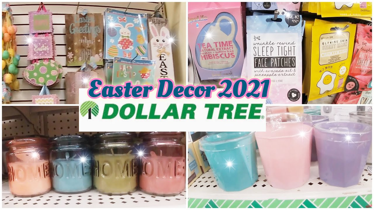 Dollar Tree Christmas Hours 2021 Easter Decor 2021 Dollar Tree January 27 2021 Virtual Shopping All New Finds Youtube