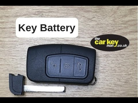 Key Battery Ford Kuga Mondeo Focus How To Change Youtube