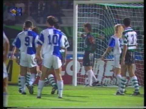 Sporting - 1 x Grasshopper - 3 (ap) de 1992/1993 Uefa