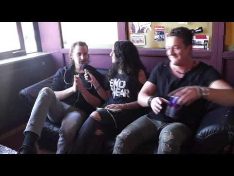 Kissin' Dynamite Interview Andi und Ande COMEBACKSTAGE