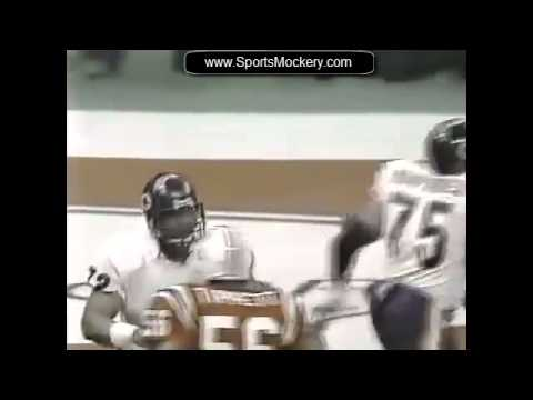 "William ""Refrigerator"" Perry - Touchdown Super Bowl XX"
